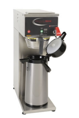 Grindmaster B-SAP Single Coffee Brewer for 2.5L Airpot - Automatic, Fresh Brew, 120v