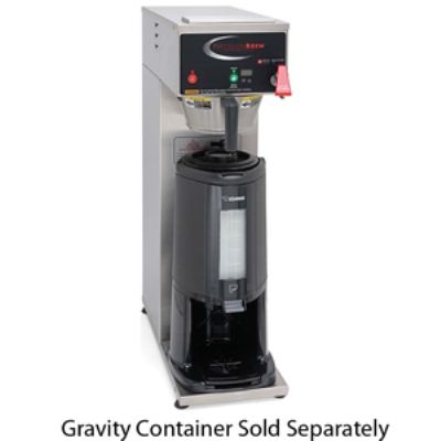 Grindmaster B-SGP Dual Coffee Brewer for Thermal Server, Fresh Brew, Automatic, 240v/1ph