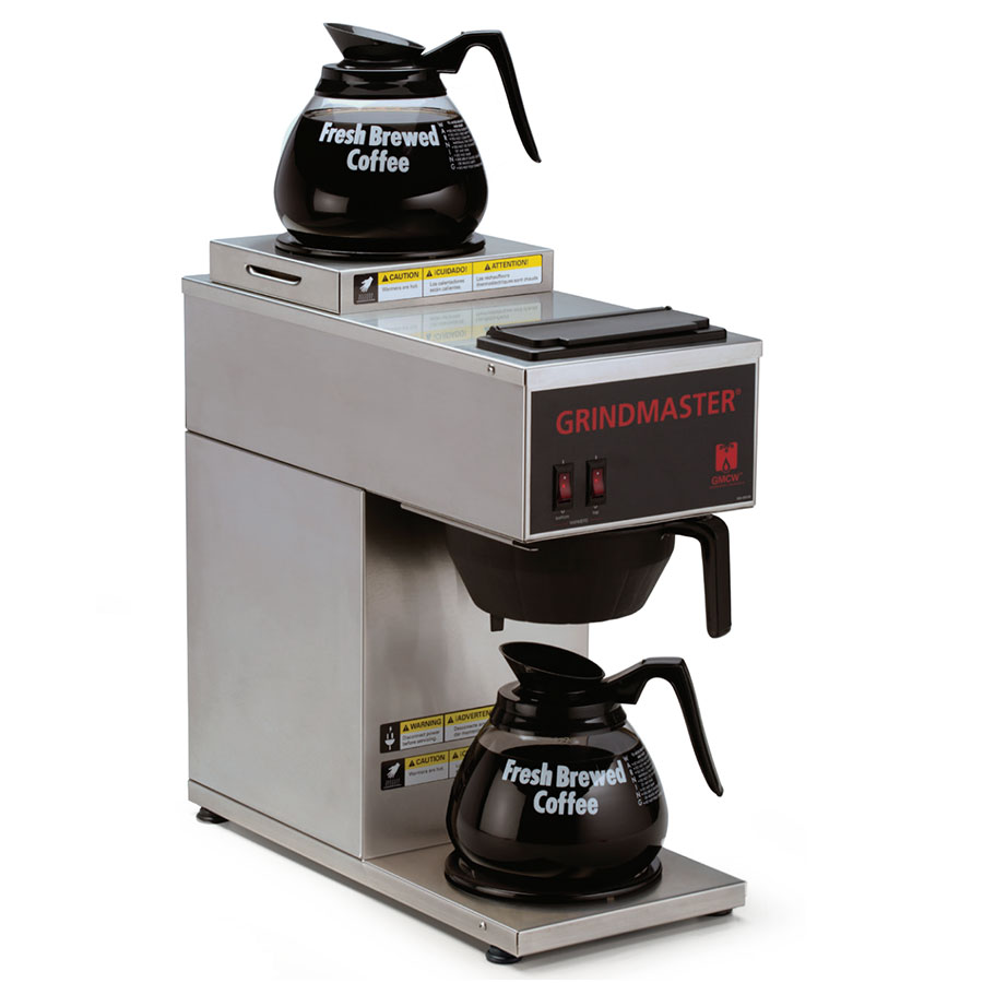 Grindmaster CPO-2P-15A Portable Coffee Brewer w/ (2) Lower Warmers, Pour Over, 120v