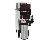 Grindmaster GNB-10H Single Coffee Brewer for Airpot w/ Grinder, 5.5-lb Hopper, Fresh Brew, 120v