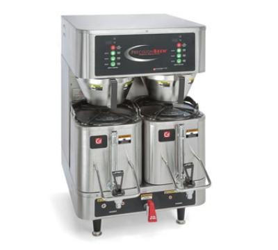 Grindmaster PB-430 Dual Coffee Brewer w/ (2) 1.5-gal Shuttle, Digital Control, 120/240v/1ph