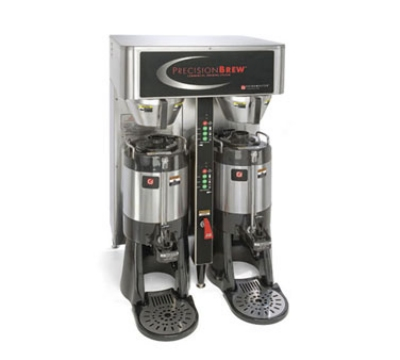 Grindmaster PBIC-430 Dual Coffee Brewer w/ (2) 1.5-gal Shuttle, Digital Control, 120/208v/1ph