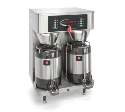 Grindmaster PBVSA-430 Twin Coffee Brewer w/ (2) 1.5-gal Shuttles, Digital Control, 120/208v/1ph