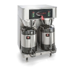 Grindmaster PBVSA-430 Dual Coffee Brewer w/ (2) 1.5-gal Shuttle, Digital Control, 208v/1ph
