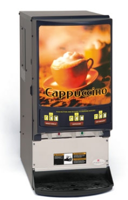 Grindmaster PIC-33A Hot Chocolate/Cappuccino Dispenser, Programmable, 120/60V