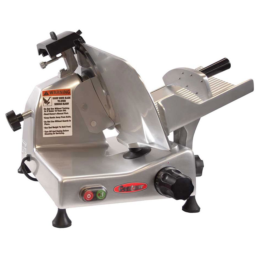 "Centaur 212-1 Manual Food Slicer w/ 12"" Knife & Top Mount Sharpener, 115v"