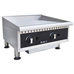 "Centaur ABMG24 24"" Gas Griddle - Manual, 3/4"" Steel Plate, NG"