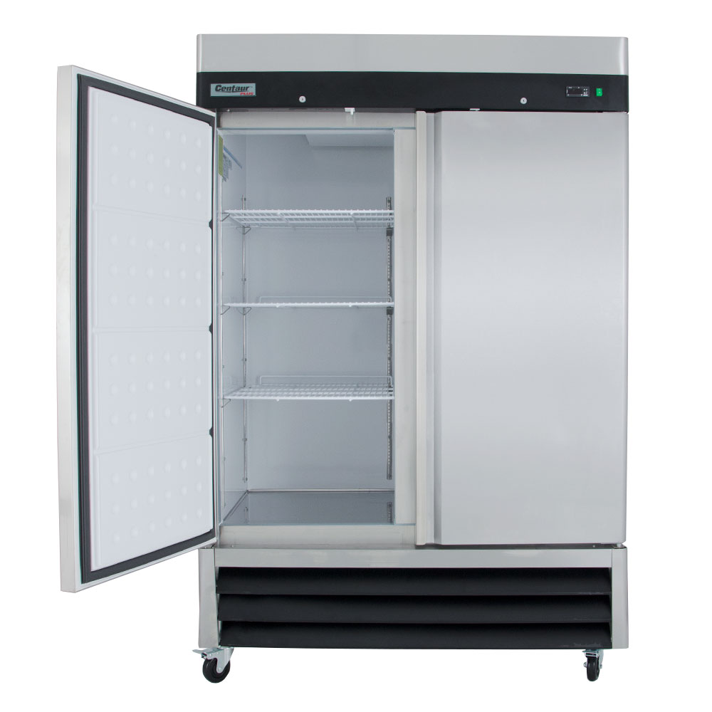 """Centaur CSD-2DF-BAL 54"""" Two Section Reach-In Freezer, (2) Solid Doors, 115v"""