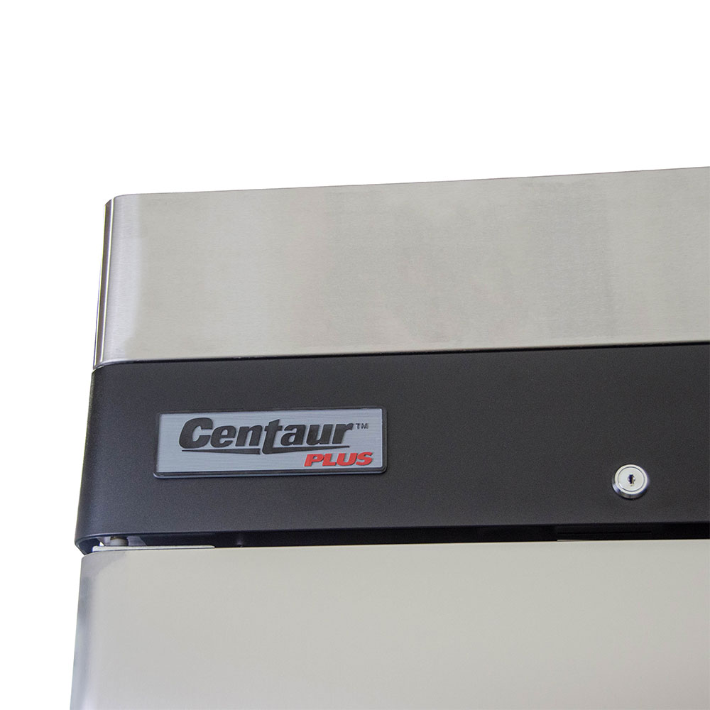 "Centaur CSD-2DR-BAL 54"" Two Section Reach-In Refrigerator, (2) Solid Doors, 115v"