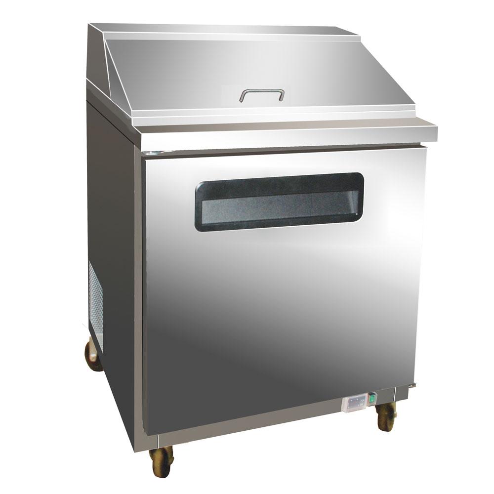 "Centaur CST-28 28.9"" Sandwich/Salad Prep Table w/ Refrigerated Base, 115v"