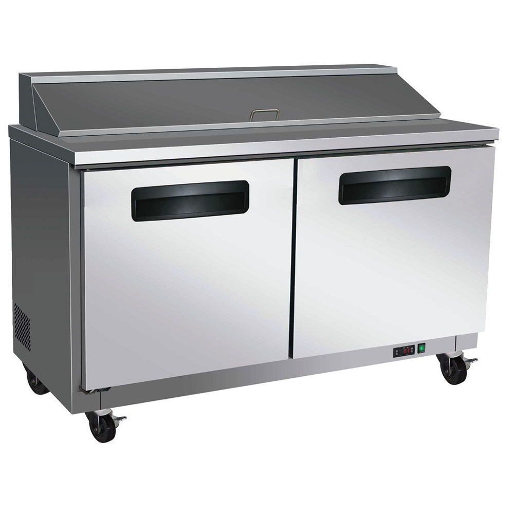 "Centaur CST-48 48"" Sandwich/Salad Prep Table w/ Refrigerated Base, 115v"