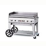 "Crown Verity MG-48NG 48"" Mobile Gas Commercial Outdoor Griddle, NG"