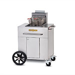 Crown Verity PF-1LP Outdoor Gas Fryer - (1) 40-lb Vat, LP