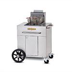 Crown Verity PF-1NG Outdoor Gas Fryer - (1) 40-lb Vat, NG