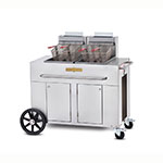Crown Verity PF-2LP Outdoor Gas Fryer - (2) 40-lb Vat, LP