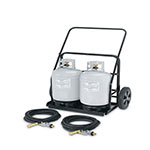 Crown Verity RPS-486072 Remote Propane Cart for MCB-48, MCB-60, & MCB-72