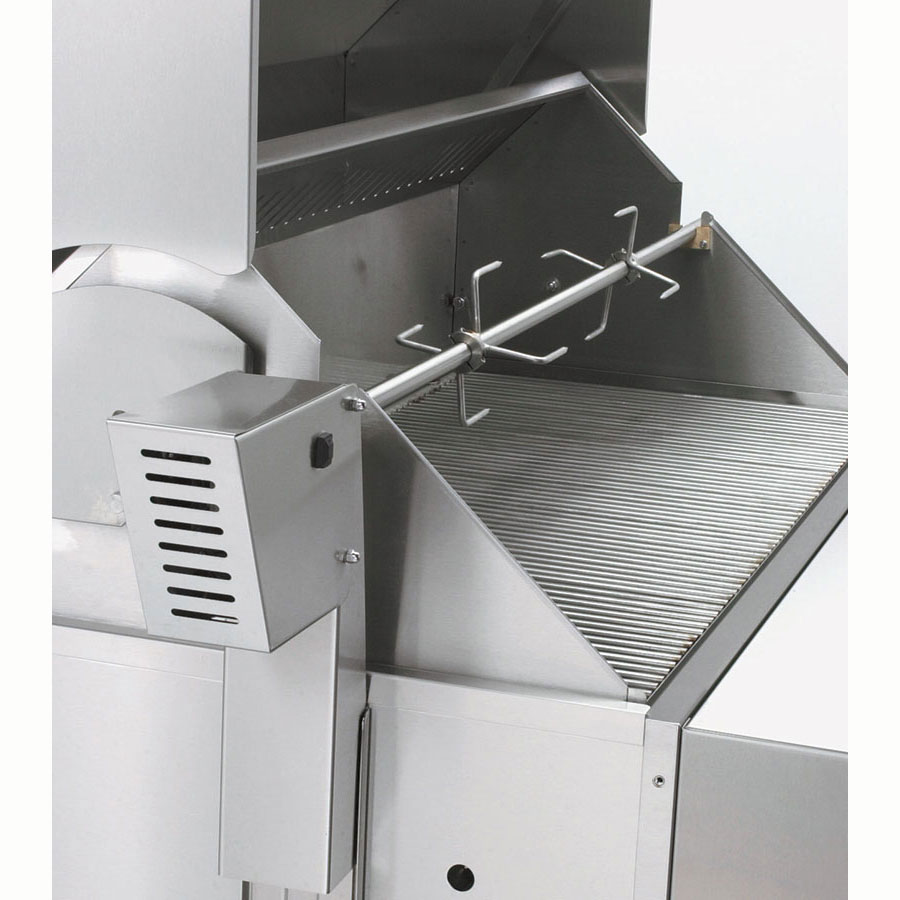 Crown Verity RT-30 Rotisserie Assembly for MCB-30 & Left Side of MCB-60