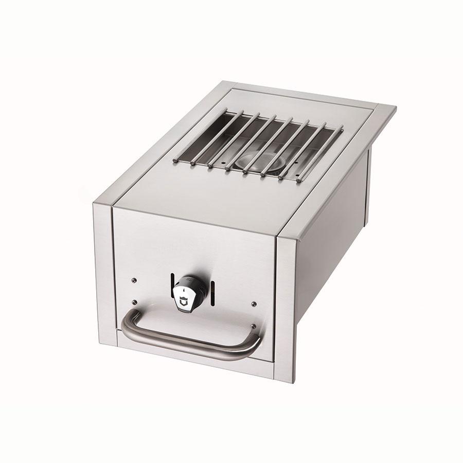 Crown Verity SB-BI-LP Side Burner for BI Grills - Stainless, LP