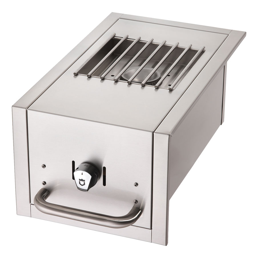 Crown Verity SB-BI-NG Side Burner for BI Grills - Stainless, NG