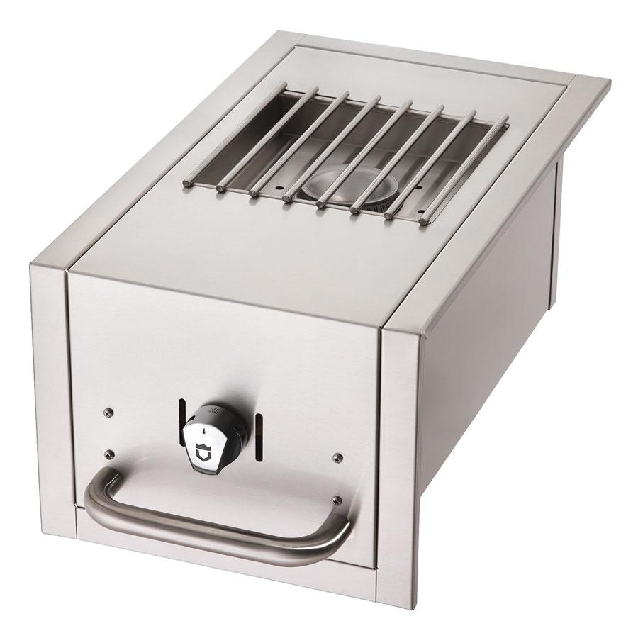 Crown Verity SB-BI-NG Side Burner for BI Grills - Stainless, NG