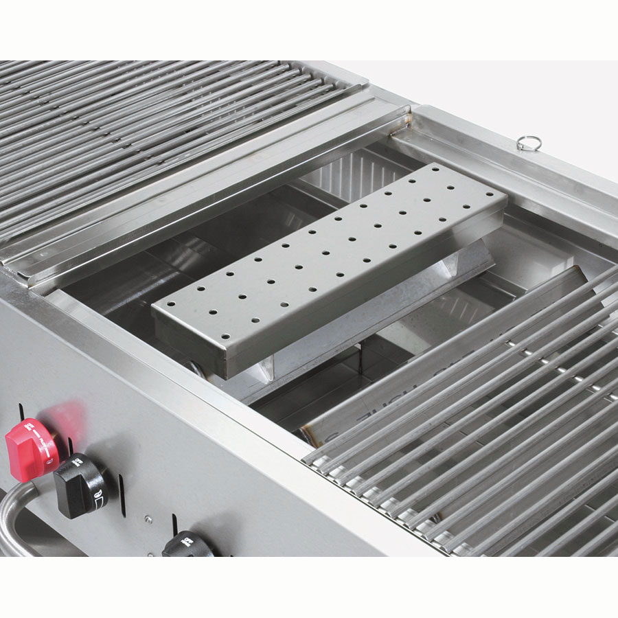 "Crown Verity SBK Smoker Box Kit for MCB Grills - 4.5"" x 11"", Stainless"