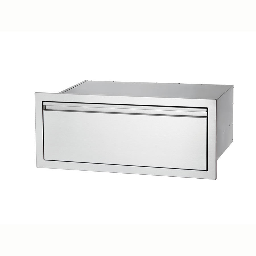 "Crown Verity SD1-30 30"" Storage Drawer for BI-30, Stainless"