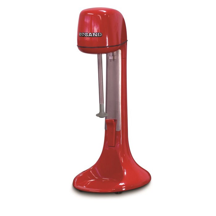 Smart Kitchen Solutions DM21-US-R Roband Single-Spindle Drink Mixer w/24-oz. Capacity - Red, 110v