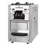 Spaceman 6235H Soft Serve Freezer w/ (2) 12.7-qt Hopper, Air Cooled, 208-230v/1ph