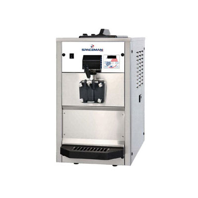 Spaceman 6236AHB Soft Serve Freezer w/ (1) 15.9-qt Hopper, Air Cooled, 208-230v/1ph