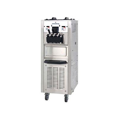 Spaceman 6378AHD Soft Serve Freezer w/ (2) 15.9-qt Hopper, Air Cooled, 208-230v/1ph
