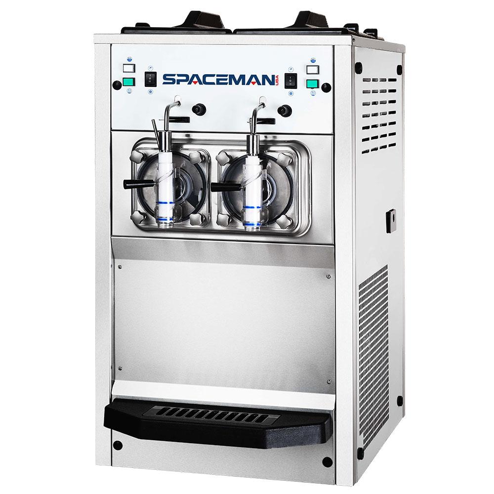 Spaceman 6455H Frozen Beverage Machine w/ (2) 8.5-qt Hopper, Air Cooled, 115-120v