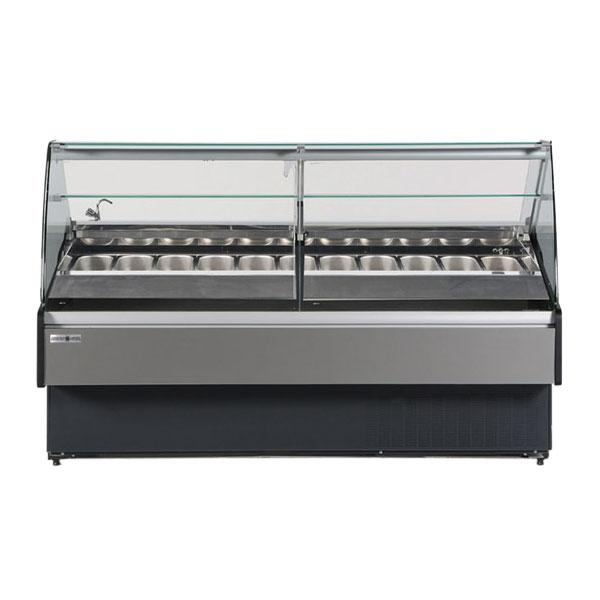"""Hydra-Kool KFM-GL-40-S 40"""" Self Service Bakery Case w/ Curved Glass - (1) Level, 115v"""