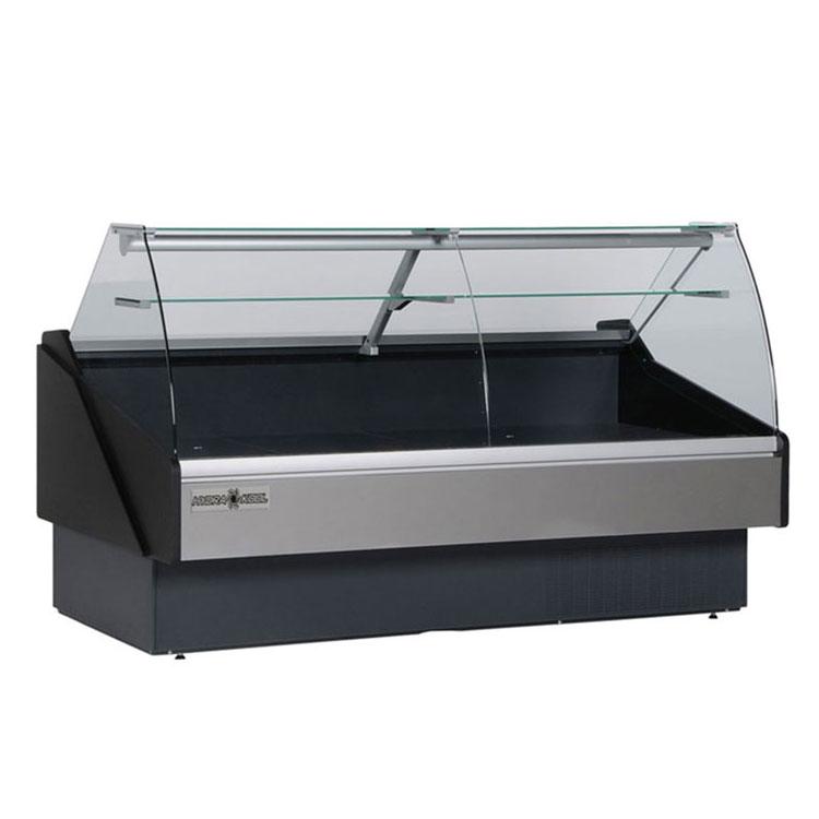 "Hydra-Kool KPM-CG-80-S 78"" Full Service Deli Case w/ Curved Glass - (1) Levels, 115v"