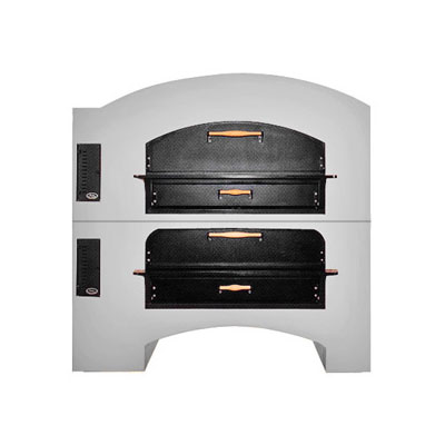 Marsal MB-60STACKED Double Pizza Deck Oven, NG