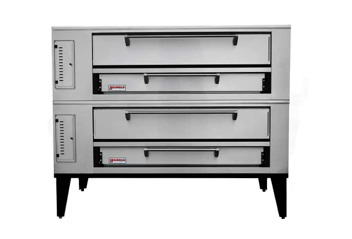 Marsal SD-1060STACKED Double Pizza Deck Oven, LP