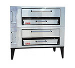 Marsal SD-448STACKED Double Pizza Deck Oven, LP