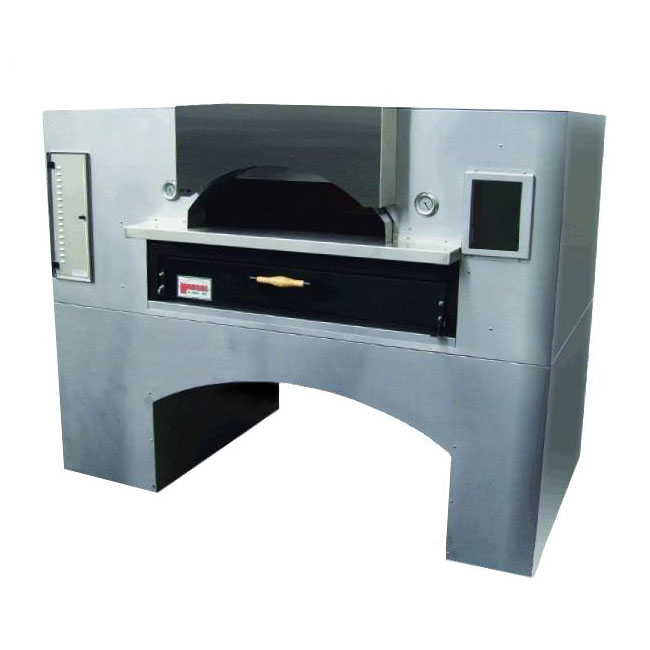 Marsal WF-60 Single Pizza Deck Oven, LP