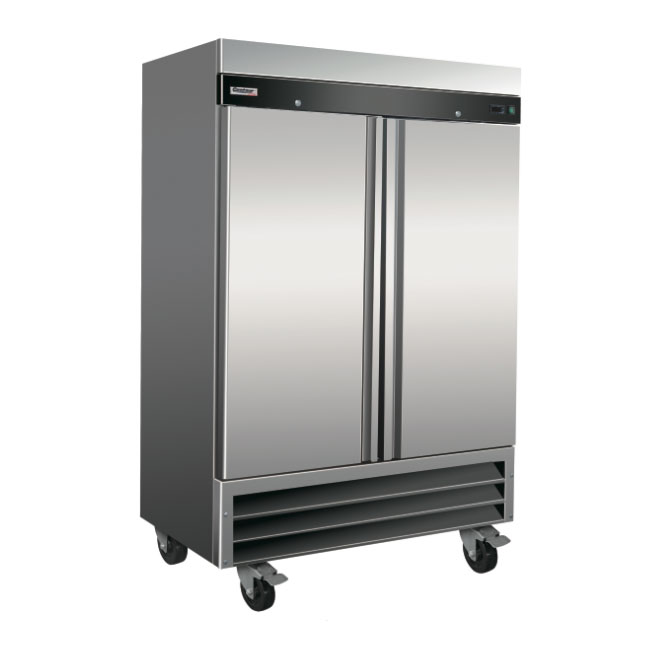 """Centaur CSD-2DR-BAL 54"""" Two Section Reach-In Refrigerator, (2) Solid Doors, 115v"""