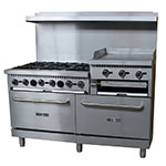"Value Series 60-CPGV-24RG-S26 60"" 6-Burner Gas Range w/ Elevated Griddle, NG"