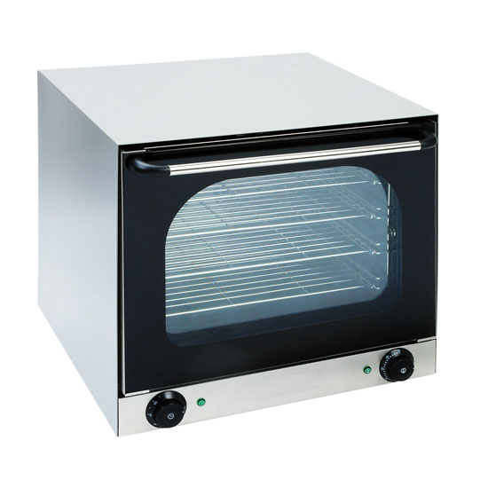 eQuipped CO-16 Half-Size Countertop Convection Oven, 220v/1ph