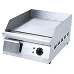 "Value Series EG16N 16"" Electric Griddle - Manual, 3/8"" Steel Plate, 120v"