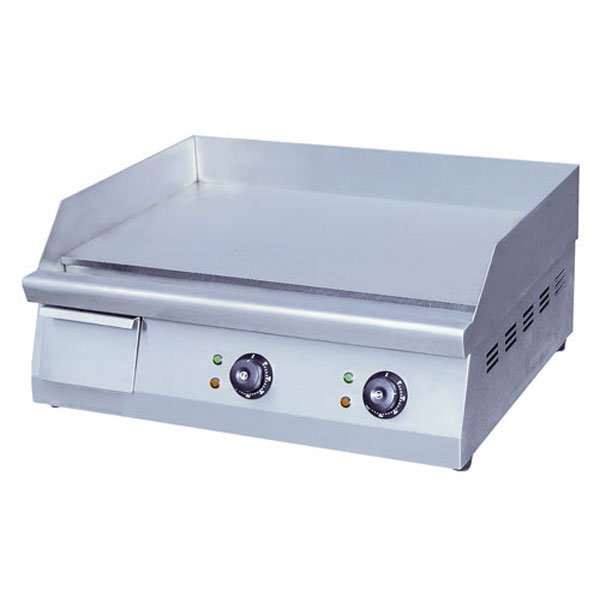 "eQuipped EG24N 24"" Electric Griddle - Manual, 3/8"" Steel Plate, 208-240v/1ph"