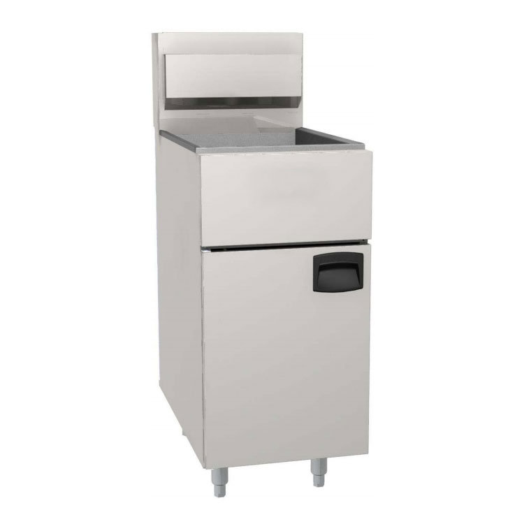 eQuipped FF518 Gas Fryer - (1) 100-lb Vat, Floor Model, NG