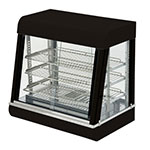 "Value Series HDC-26 26"" Self-Service Countertop Heated Display Case - (3) Shelves, 120v"