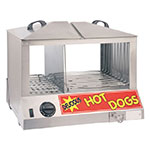 eQuipped HDS-100 Hot Dog & Bun Steamer w/ 100-Hot Dog & 48-Bun Capacity,