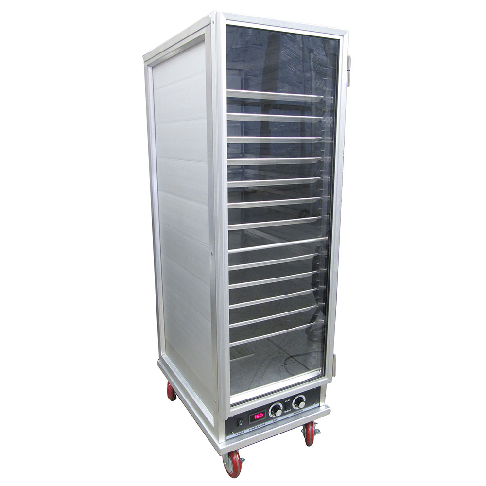 eQuipped HPU-1836 Full Height Mobile Heated Cabinet w/ (36) Pan Capacity, 120v
