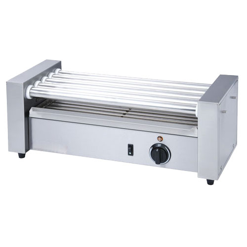 eQuipped RG1812 12 Hot Dog Roller Grill - Flat Top, 120v