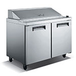 "Value Series VSS2 47.75"" Sandwich/Salad Prep Table w/ Refrigerated Base, 115v"