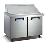 "Value Series VSSM2 47"" Mega Top Sandwich/Salad Prep Table w/ Refrigerated Base, 115v"