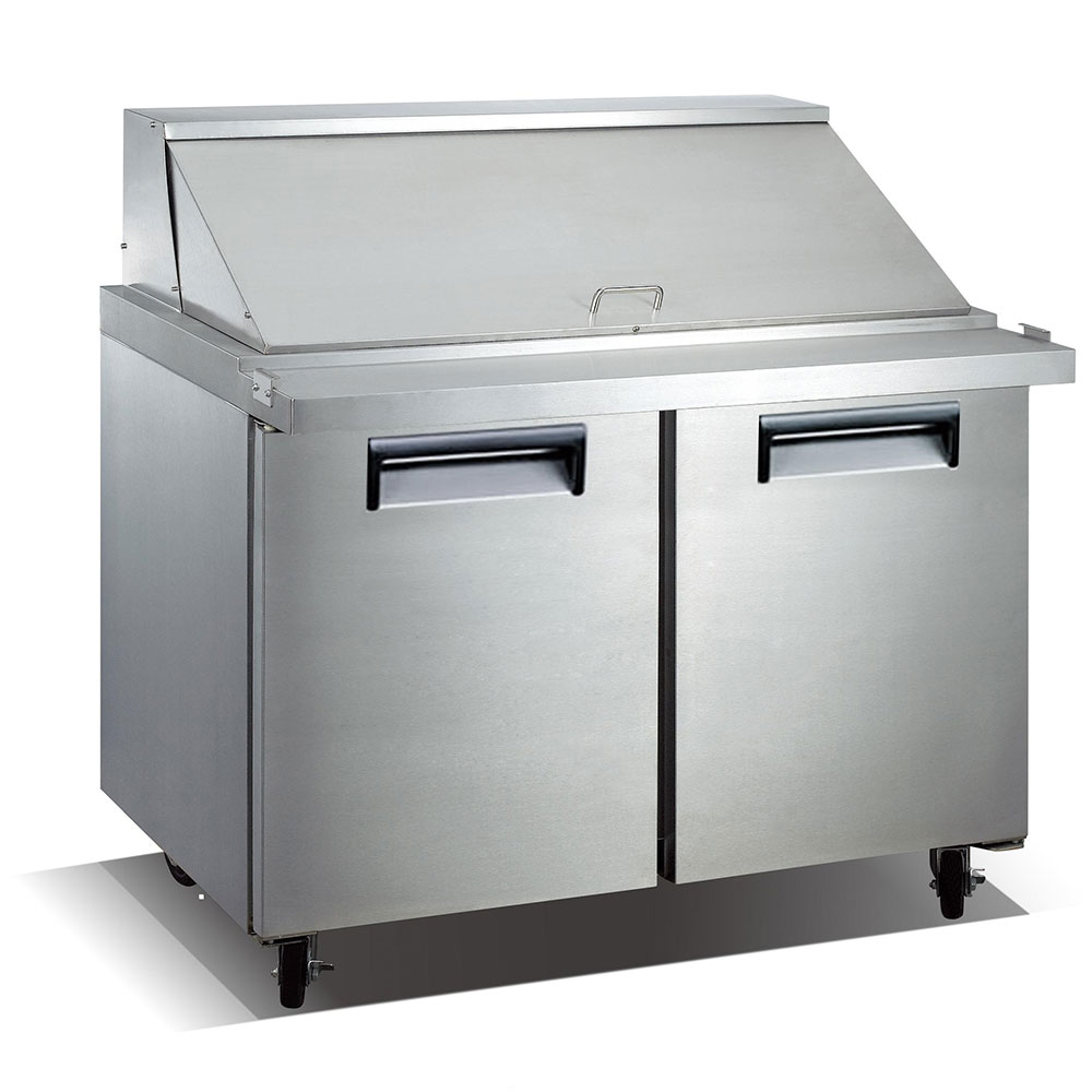 eQuipped VSSM2 47 Mega Top Sandwich/Salad Prep Table w/ R...